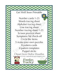 Get Well Card Template Id Cards Printed Online Kids Coloring Soon
