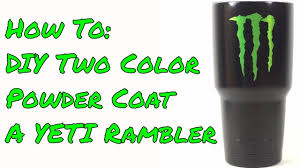 Eastwood Powder Coating Color Chart Diy Two Color Powder Coated Yeti