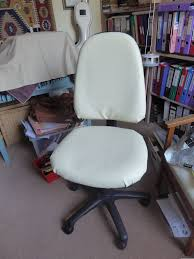 reupholstering an office chair. Excellent Reupholster Office Chair Arms Now Enjoying My New Armrest: Large Size Reupholstering An