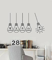 vinyl wall decal office idea strategy