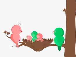 bird family vector free vectors ui