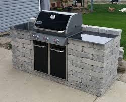 outdoor grills built in plans designs
