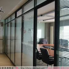 aluminum office partitions. Office Partition Wall Soundproof Glass Partitions Double Aluminum O