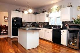 dark kitchen cabinets and white appliances not bad black grey with ideas black cabinets with white appliances kitchen dark grey