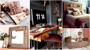 49 Insanely Smart Reclaimed Wood Furniture and Decor Projects For a