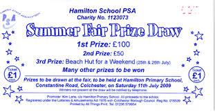 Prize Draw Tickets Summer Fair Raffle Ticket Summer Fair Prize Draw Raffle Ti Flickr