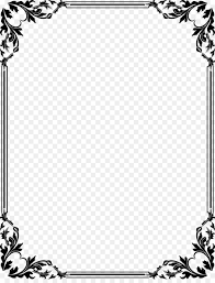 Invitation Boarders Wedding Invitation Borders And Frames Clip Art White Frame Png