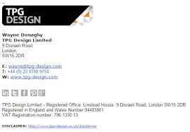 great email signatures the nature of great email signatures tpg design web design seo