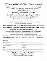 Tournament Sign Up Sheets 5th Annual Dodgeball Tournament Register By Monday