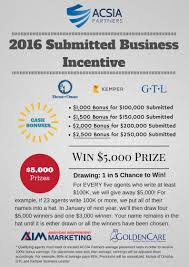 Incentive Flyer American Independent Marketing2016 Acsia Business Incentive Flyer