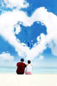 vector heart love romantic couple