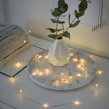 Battery Operated Amber Led Lights Led Micro Light Chain Amber 2 4m 20 Leds 6h Timer Battery Operated Copper