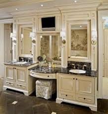 Bathroom Vanities Phoenix Az Delectable MASTER Bathroom Vanity With Makeup Area Design Pictures Remodel
