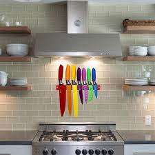 European Kitchen Gadgets Amazoncom Chefcoo Kitchen All In One Cutlery Knife Set With