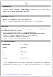 Chartered Accountant Resumes Indian Chartered Accountant Resume Sample 2 Accountant
