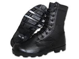 krazy shoe artists combat 8 inch black leather tactical men s jungle boots