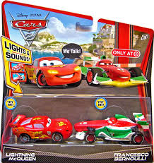francesco bernoulli and lightning mcqueen. Lightning McQueen Lights Sounds Francesco Bernoulli Double With And Mcqueen