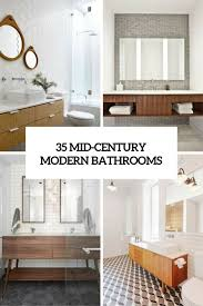 mid century modern bathroom lighting. 35 trendy midcentury modern bathrooms to get inspired mid century bathroom lighting