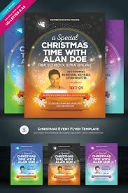christmas event flyer template christmas event flyer vol 02 corporate identity template 74308