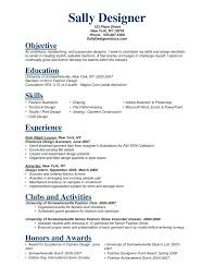 Sample Objectives For Resumes - Free Letter Templates Online - Jagsa.us