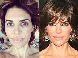 real housewives in and out of makeup from with without e news tips