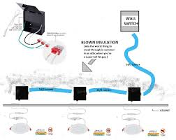 Connecting Recessed Lights In Series Recessed Led Lights Wiring Code Question Doityourself