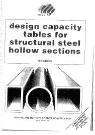 array aisc design capacity tables structural steel hollow sections rh vdoents mx