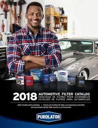 Purolator Releases 2018 Automotive Filter Catalog Auto