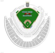 Lsu Seating Chart With Rows Kauffman Stadium Seating Chart With Seat Numbers Seating Chart