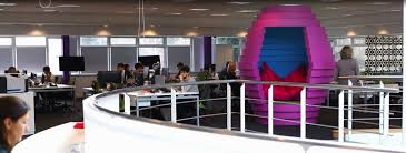 the hive meeting pod for quiet space or informal meetings cool office design cool office space idea funky
