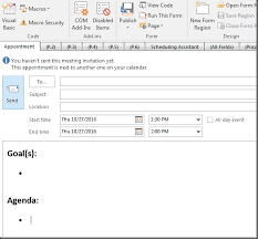 Outlook Meeting Agenda Template Outlook Tip Set Default Meeting Template Dotnet Catch