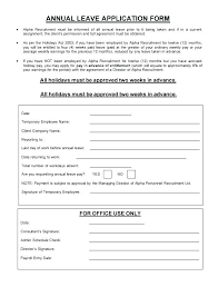 Vacation Request Forms For Employees Leave Request Form Template Sample Vacation Request Form Custom