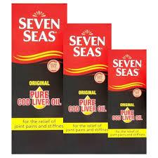 seven seas cod liver oil liquid