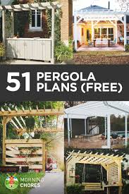 Cantilever Pergola Design Ideas Pictures 51 Diy Pergola Plans Ideas You Can Build In Your Garden Free