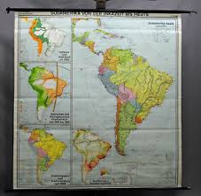 A New Chart Of History Poster Details About Vintage Poster Rollable Wall Chart Map South America Inca Period History