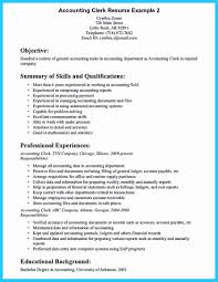 Entry Level Accounting Clerk Resume Sample Entry Level Accounting Resume Sample Luxury Objective Accounting 16