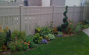 flower bed fence ideas gardens and flower beds tenax garden fence