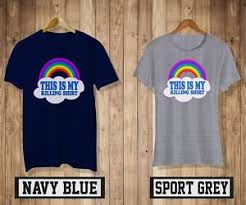 Details About Grunt Style This Is My Killing T Shirt Mens Womens Sport Gray Navy Blue Top An1