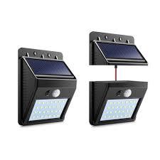 Us 133 40 Offaimengte Nieuwste Scheidbare Veranda Lichten Outdoor Zonne Energie Motion Sensor Pir Led Lamp Yardtuinpathway Beveiliging Lichten
