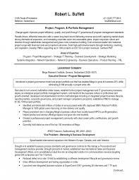 Portfolio Manager Resume Sample Information Technology Senior Project Manager Resume Sample Telecom 22