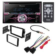 pioneer fh x720bt aftermarket car stereo dash installation kit w wire harness kit for car stereo pioneer fh x720bt aftermarket car stereo dash installation kit w wiring harness antenna select