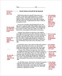 Essay Writing Example For Kids Sample Persuasive Essay Persuasive Writing Examples