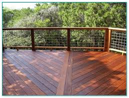 Deck with wire fence Deck ideas Pinterest Wire fence Decking