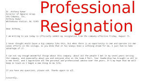 Sample Notice Letters Best Resignation Letters Bunch Ideas Of Formal Resignation Letter