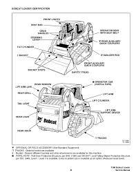 bobcat t190 compact track loader service repair manual s n 527711001 b 16315 13 t190 bobcat loader xi service manual