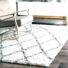 white faux fur area rug wolf skin brown grey gray sheepskin