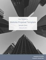 Sample Proposal For Website Design And Development Pdf Proposal Templates And Samples From 25k Winning Proposals
