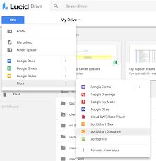 Lucidchart In Google Drive Lucidchart