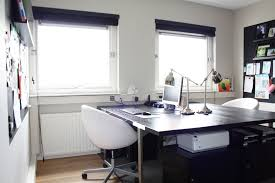home office two desks. Two Sided Desk Home Office Contemporary With None. Image By: Holly Marder Desks K