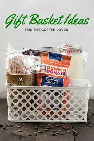 gift basket ideas for the coffee lover ping for a hard to for family